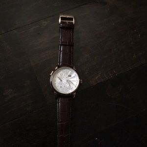 Genuine leather ( brown) watch